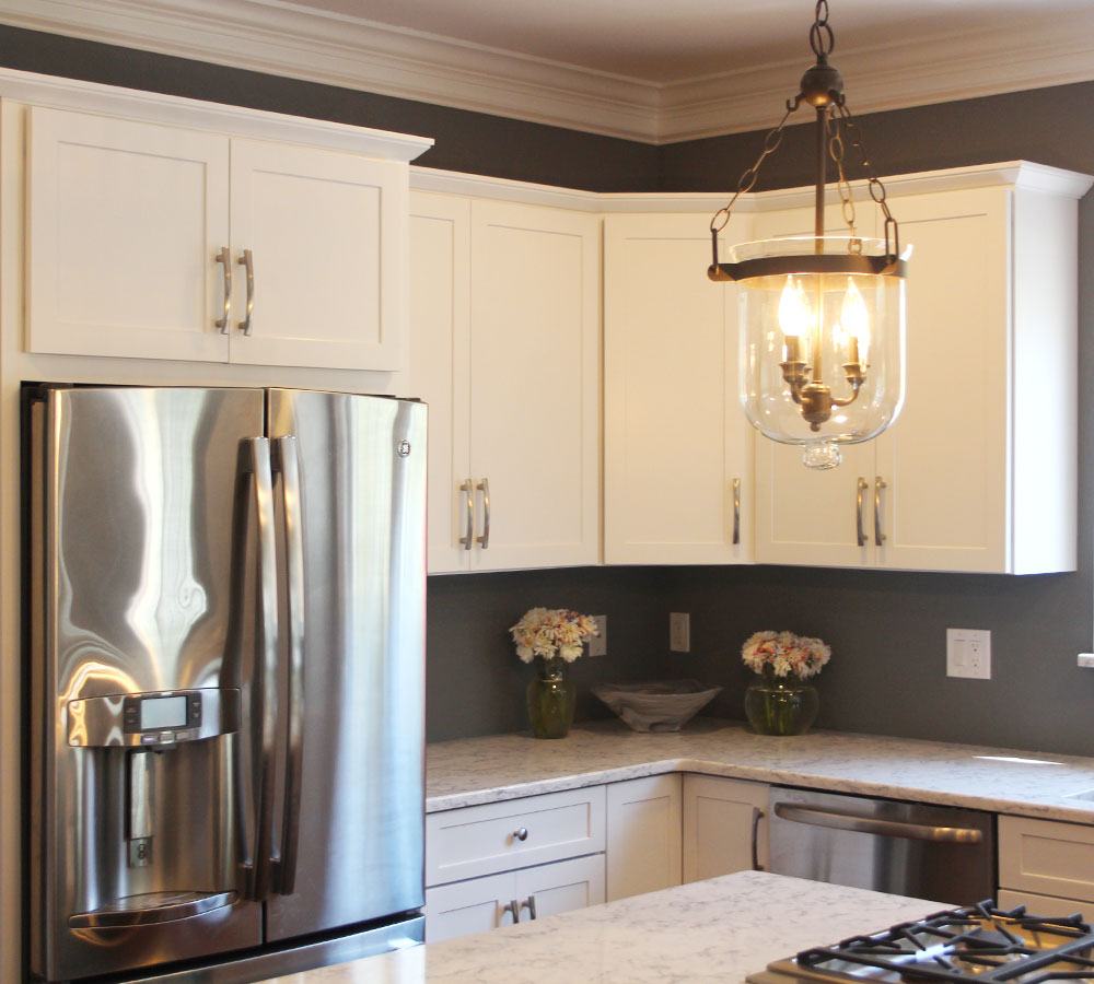 maple cabinets refinished in decorative white tinted traditional kitchen in danbury ct zillow digs