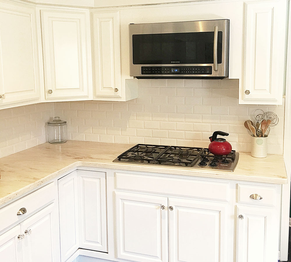 White maple cabinets - Maple Cabinets Sprayed In Pure White Tinted Lacquer Classic Refinishers
