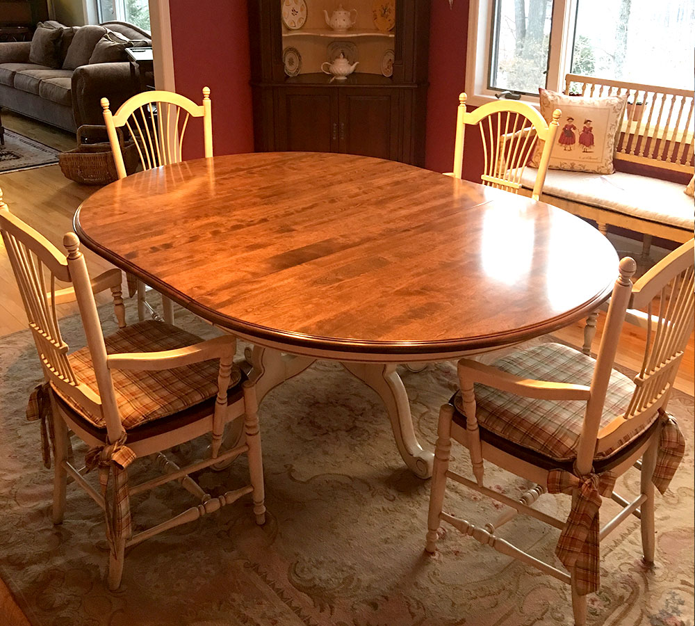 Refinishing Kitchen Table Refinished Kitchen Table
