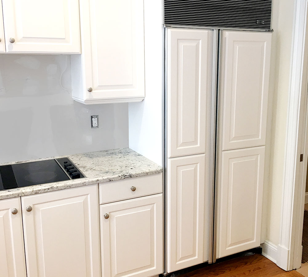Refacing Old Kitchen Cabinets: Wilton Connecticut Kitchen Cabinet Refacing