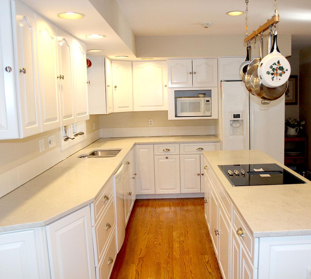 Weston Connecticut Kitchen Cabinet Refacing