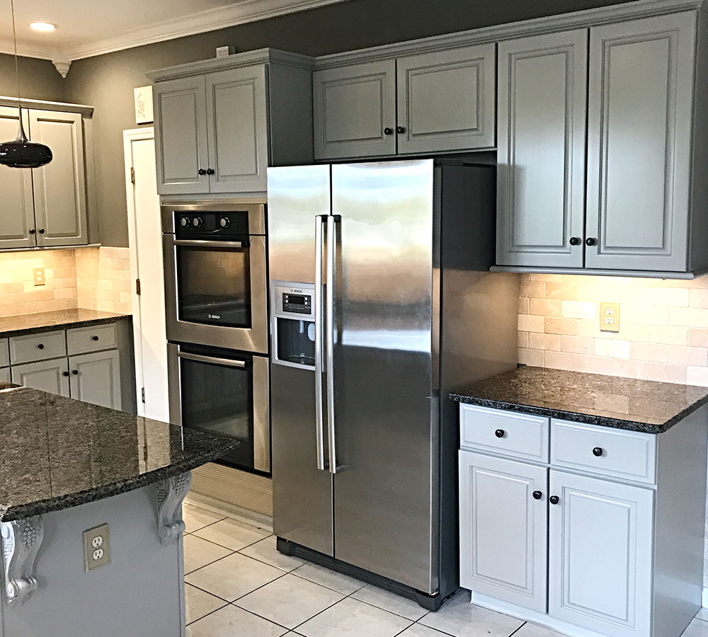 Grey Kitchen Cabinets Project Gallery