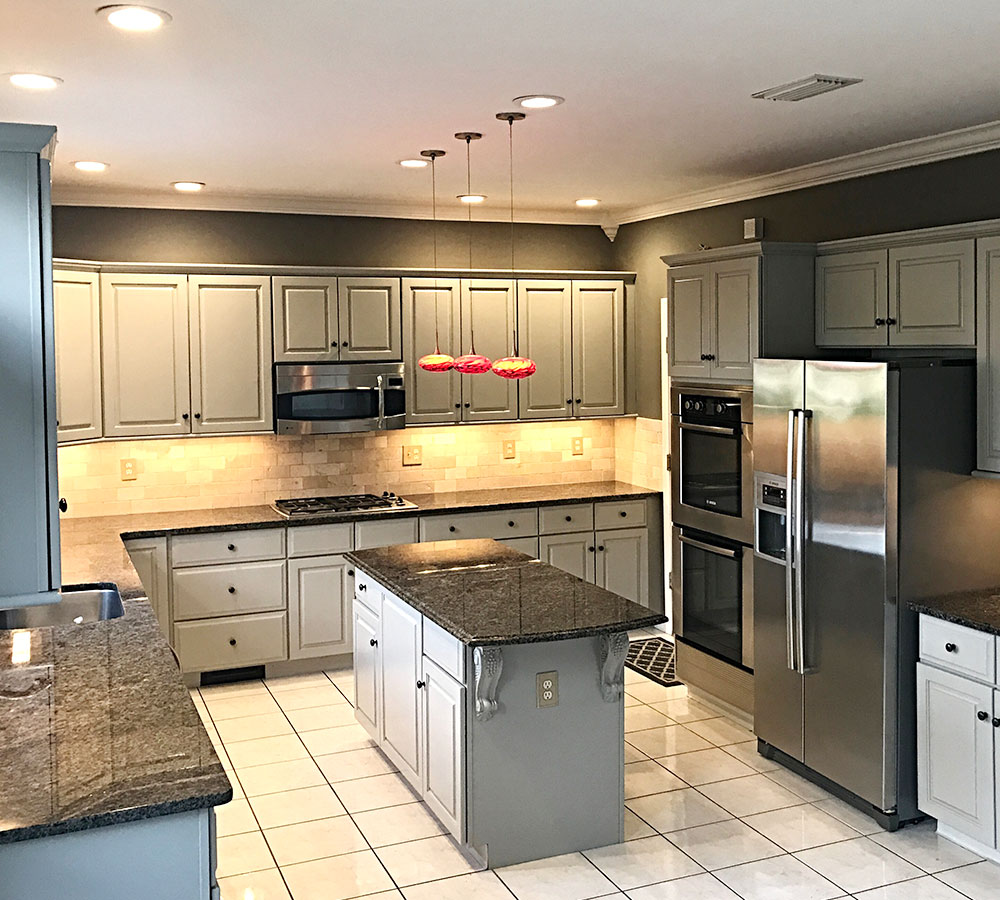 Grey Kitchen Cabinets Project Gallery & Examples